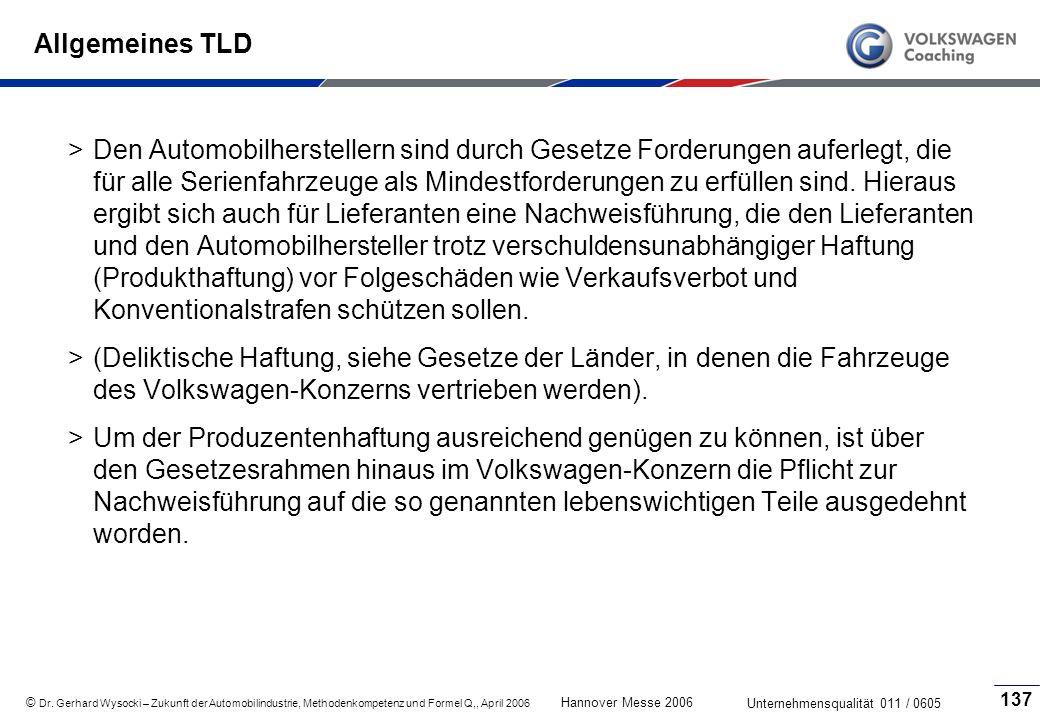 Allgemeines TLD