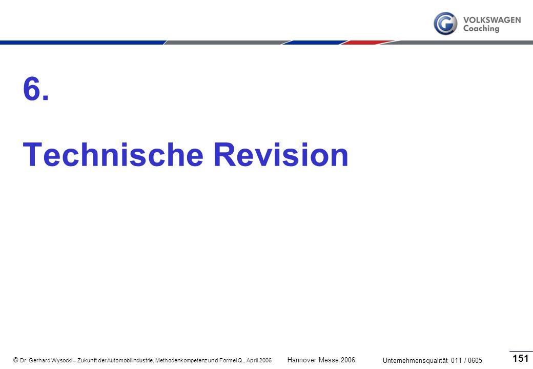 6. Technische Revision