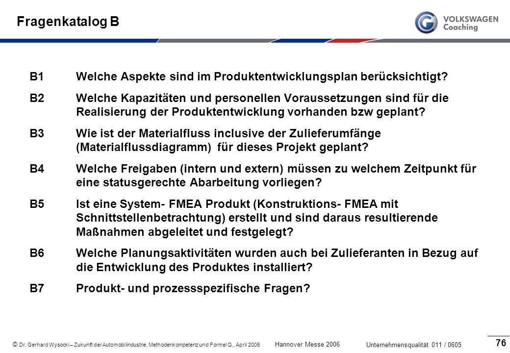 Fragenkatalog B B1 Welche Aspekte sind im Produktentwicklungsplan berücksichtigt