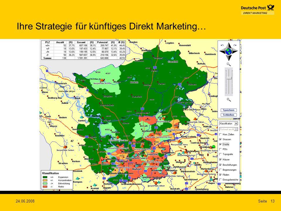 Ihre Strategie für künftiges Direkt Marketing…