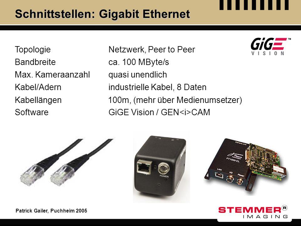 Schnittstellen: Gigabit Ethernet