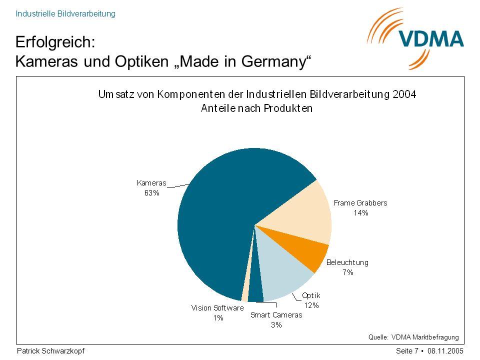 """Erfolgreich: Kameras und Optiken """"Made in Germany"""