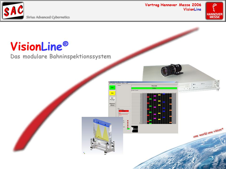 VisionLine® Das modulare Bahninspektionssystem