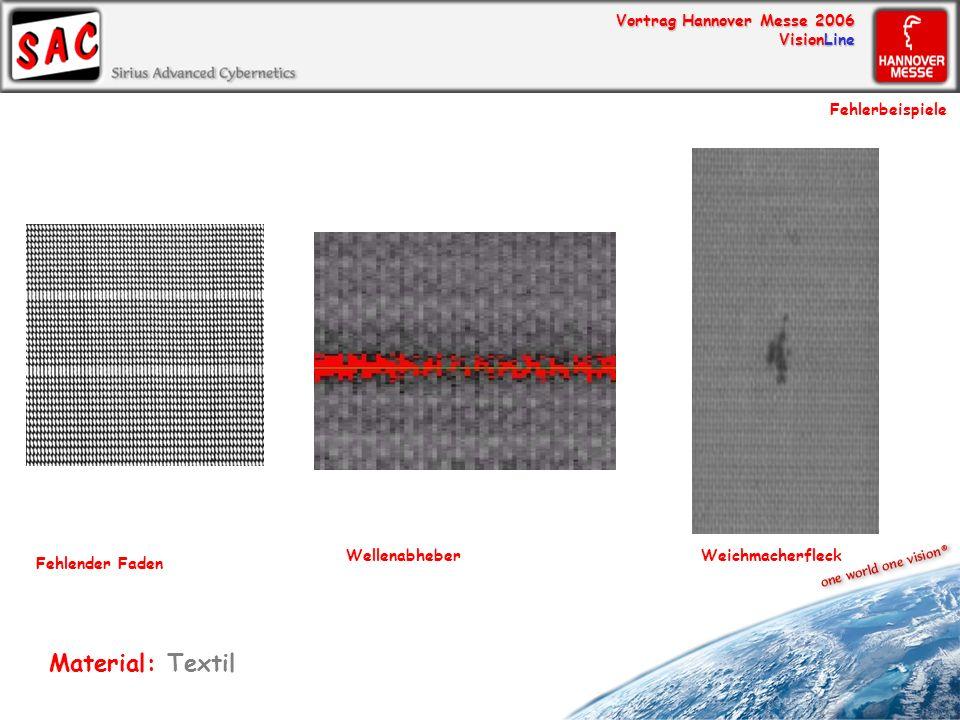 Material: Textil Fehlerbeispiele Wellenabheber Weichmacherfleck