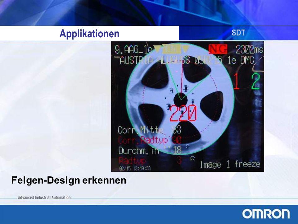 Applikationen SDT Felgen-Design erkennen