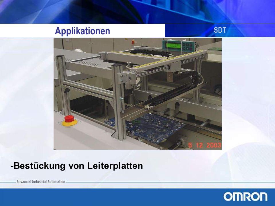 Applikationen SDT -Bestückung von Leiterplatten