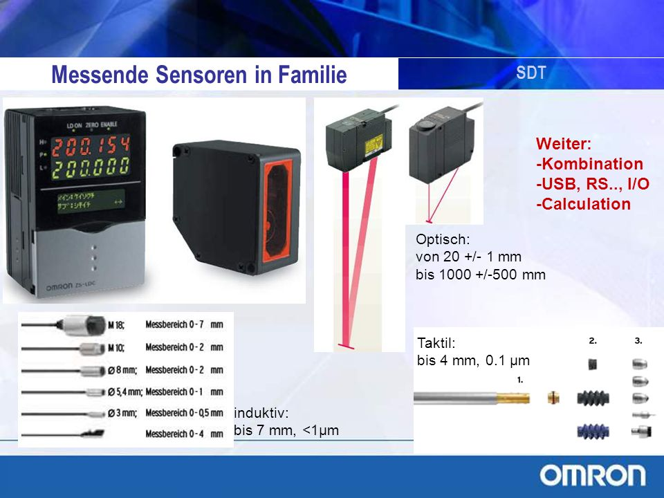 Messende Sensoren in Familie