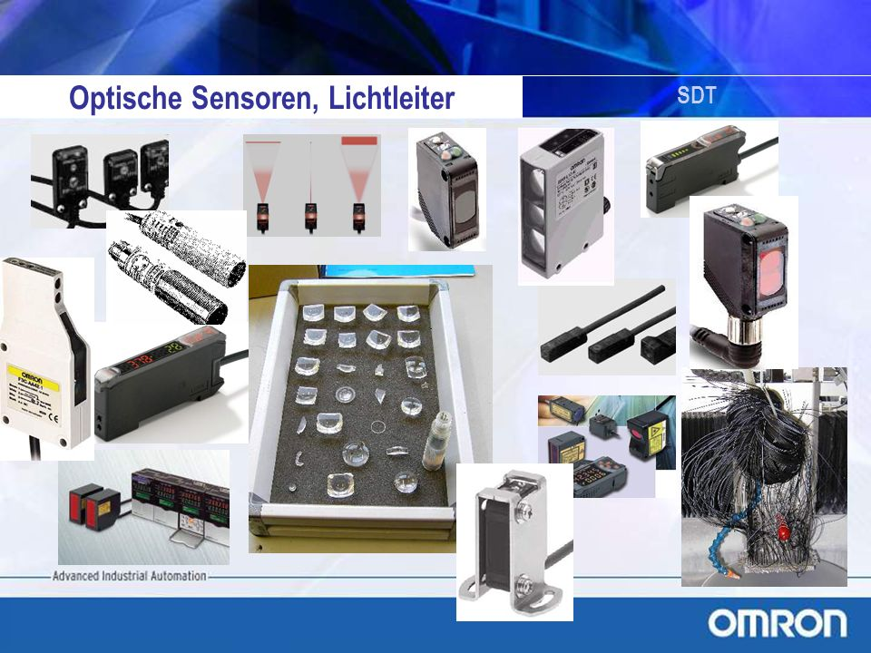 Optische Sensoren, Lichtleiter