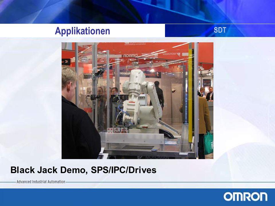 Applikationen SDT Black Jack Demo, SPS/IPC/Drives