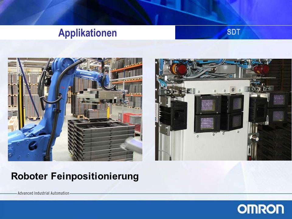 Applikationen SDT Roboter Feinpositionierung