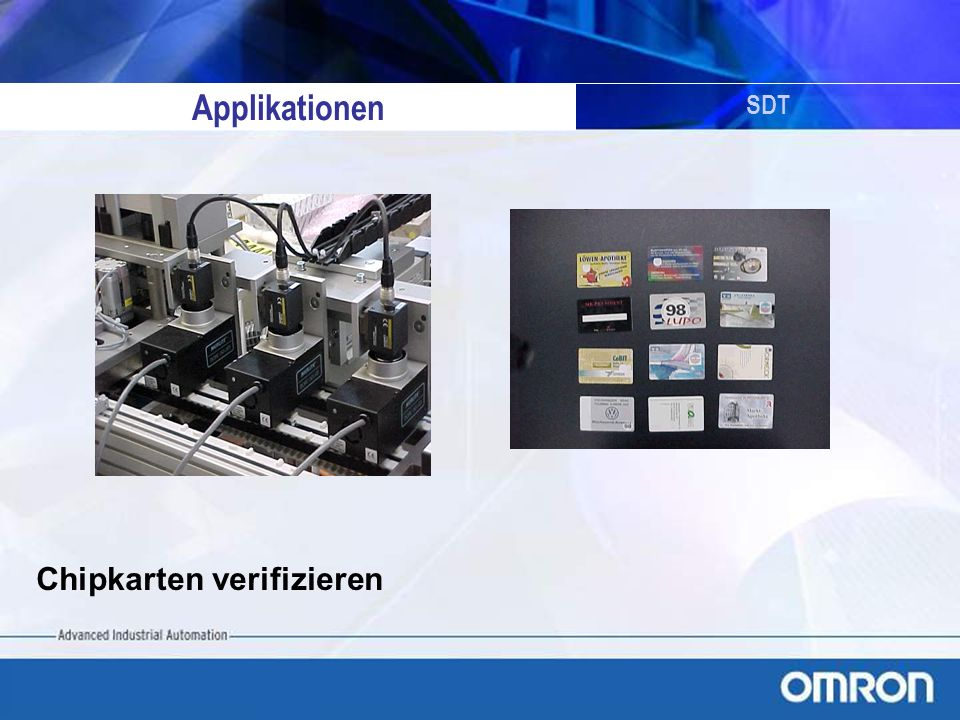 Applikationen SDT Chipkarten verifizieren