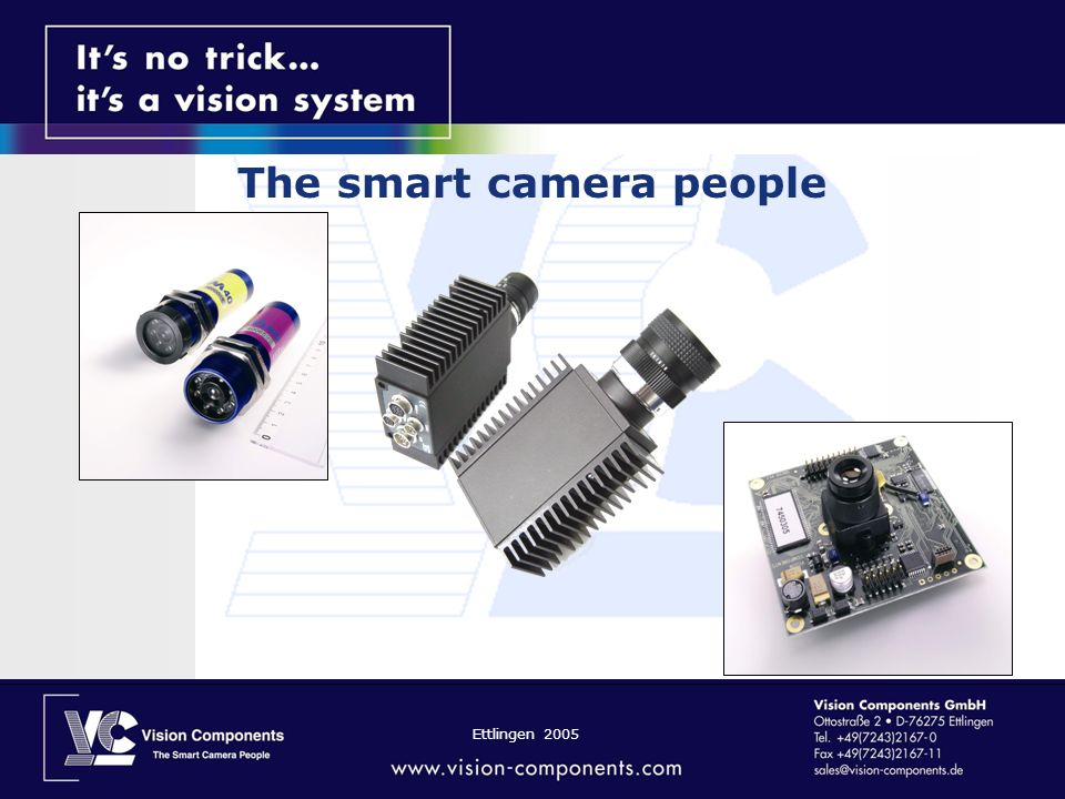 The smart camera people