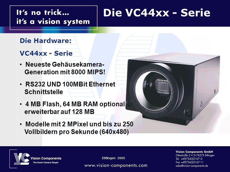 Die VC44xx - Serie Die Hardware: VC44xx - Serie