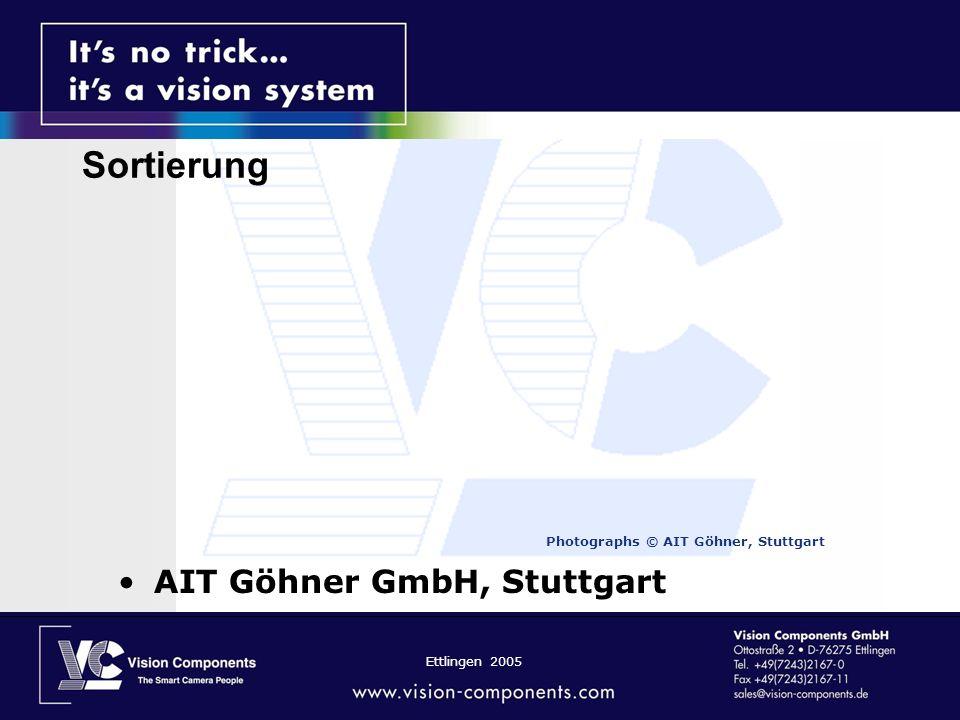 Sortierung AIT Göhner GmbH, Stuttgart