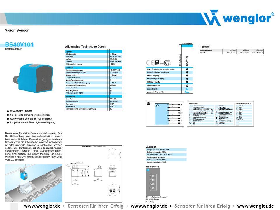 www. wenglor. de • Sensoren für Ihren Erfolg • www. wenglor