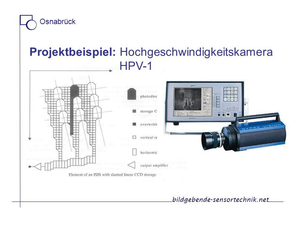 Projektbeispiel: Hochgeschwindigkeitskamera HPV-1