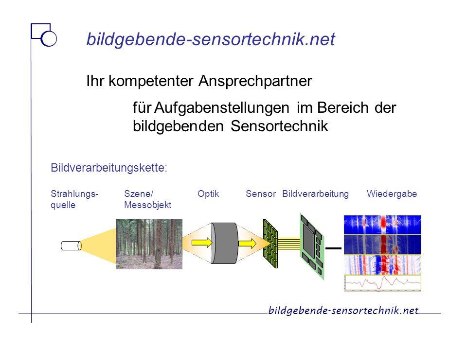 bildgebende-sensortechnik.net Ihr kompetenter Ansprechpartner