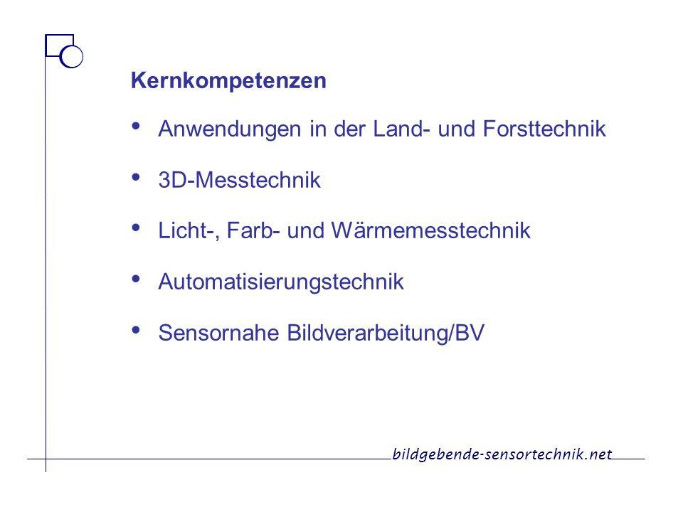 Anwendungen in der Land- und Forsttechnik 3D-Messtechnik