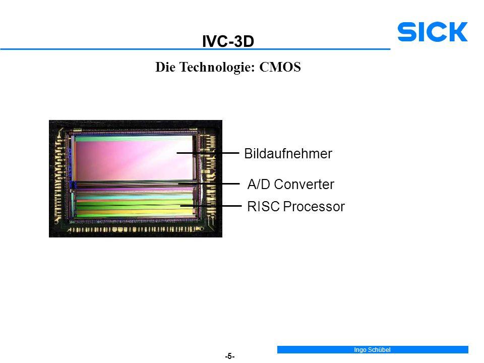 IVC-3D Die Technologie: CMOS Bildaufnehmer A/D Converter