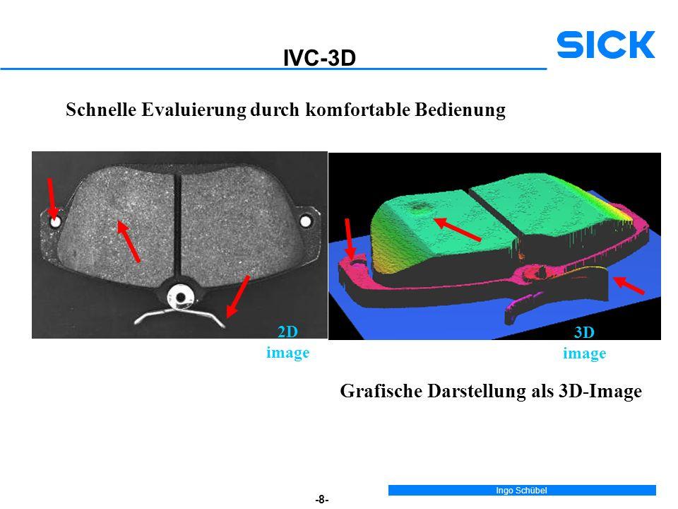 IVC-3D Schnelle Evaluierung durch komfortable Bedienung