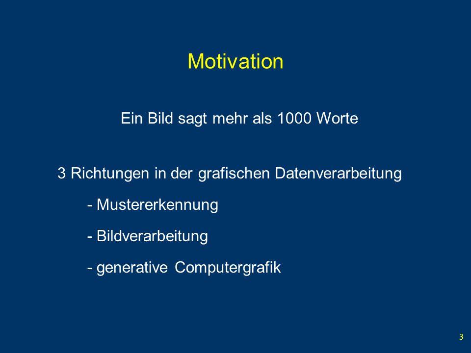 Motivation Ein Bild sagt mehr als 1000 Worte