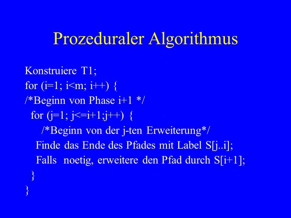 Prozeduraler Algorithmus