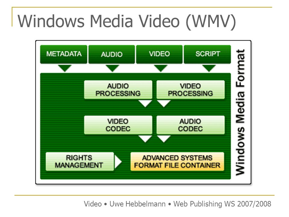 Windows Media Video (WMV)