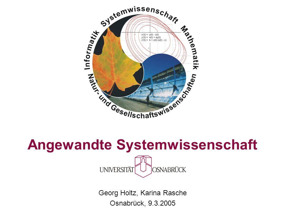 Angewandte Systemwissenschaft