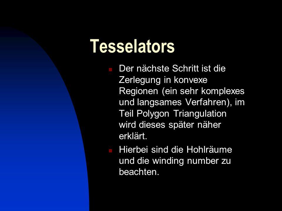 Tesselators
