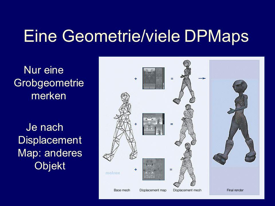 Eine Geometrie/viele DPMaps