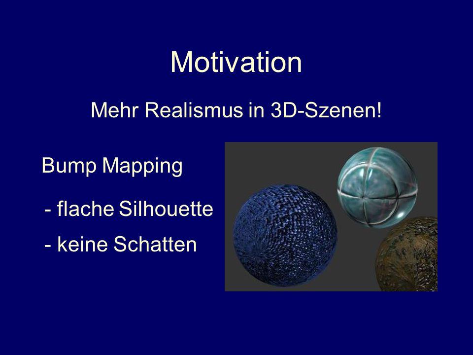 Mehr Realismus in 3D-Szenen!