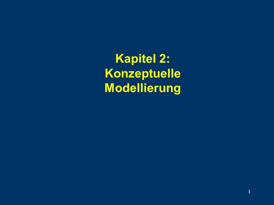 Kapitel 2: Konzeptuelle Modellierung