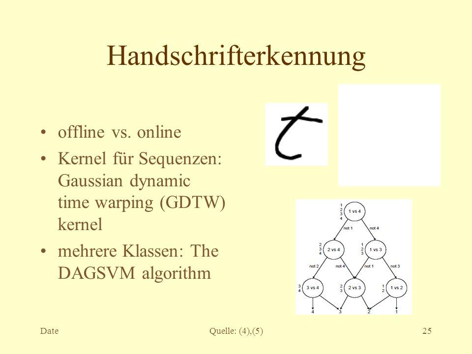 Handschrifterkennung
