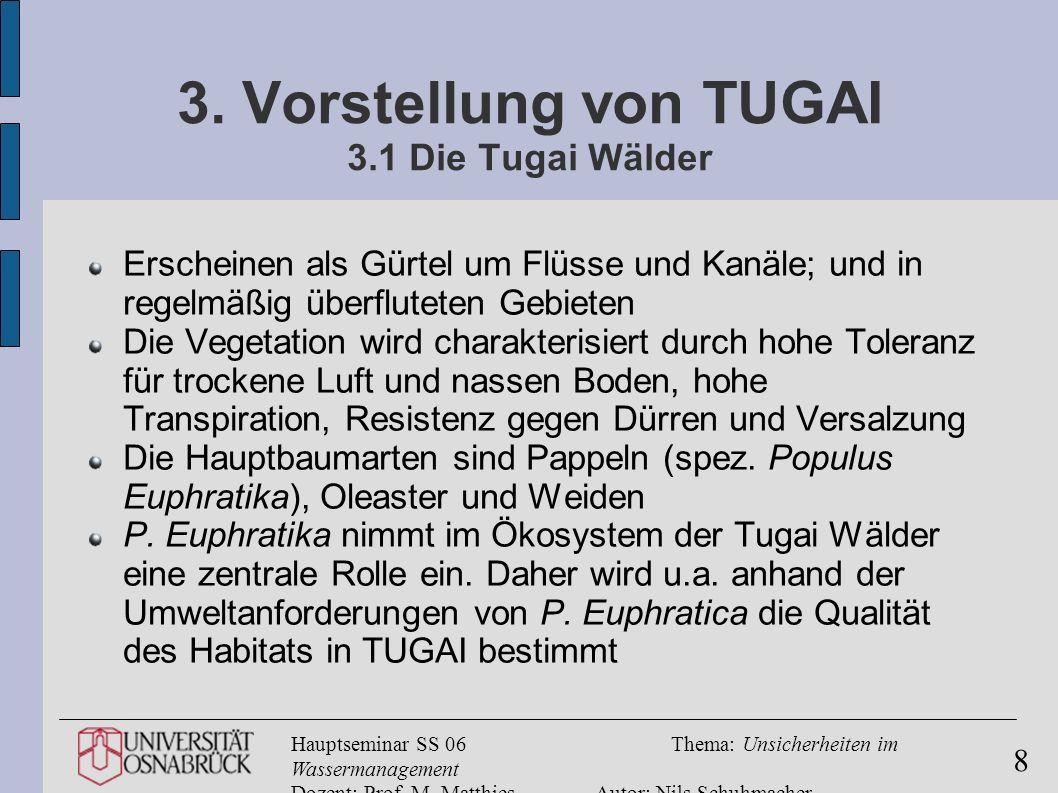 3. Vorstellung von TUGAI 3.1 Die Tugai Wälder