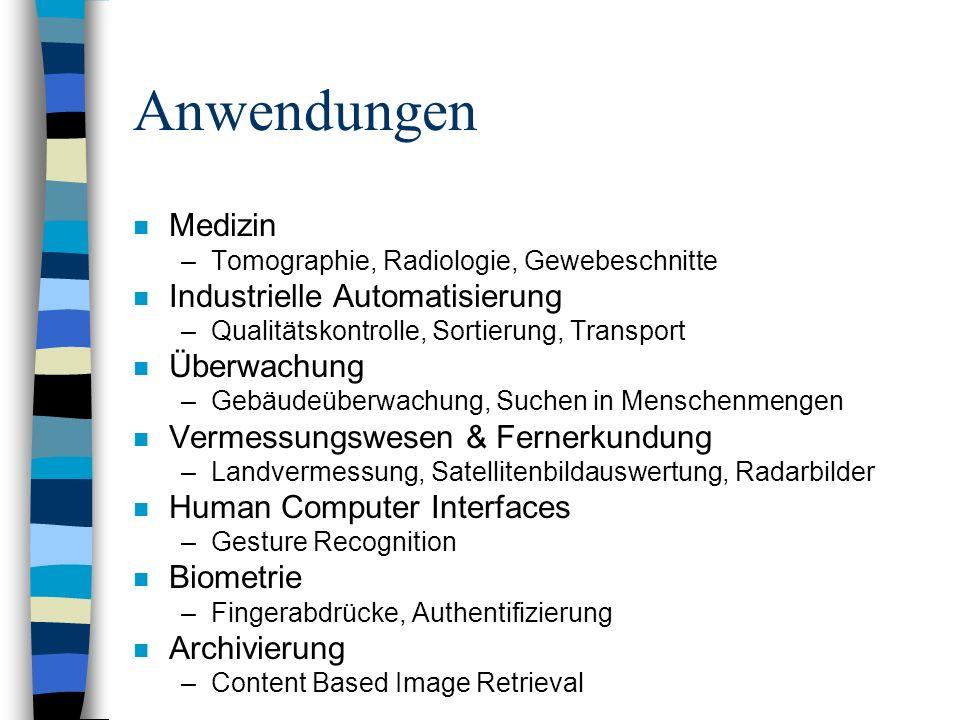 Anwendungen Medizin Industrielle Automatisierung Überwachung