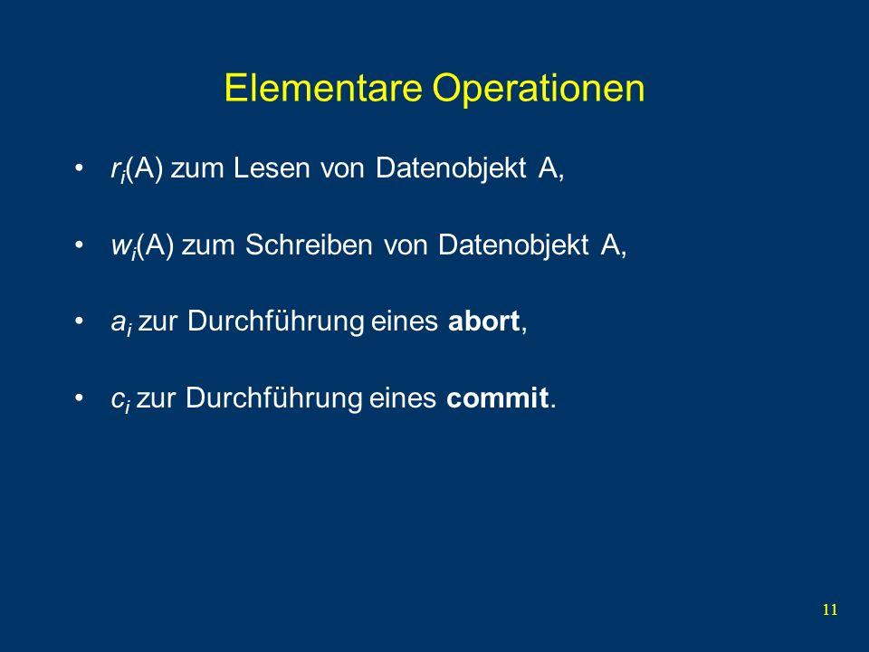 Elementare Operationen