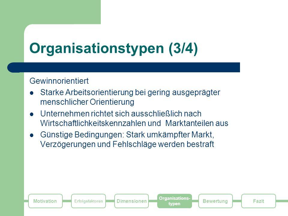 Organisationstypen (3/4)