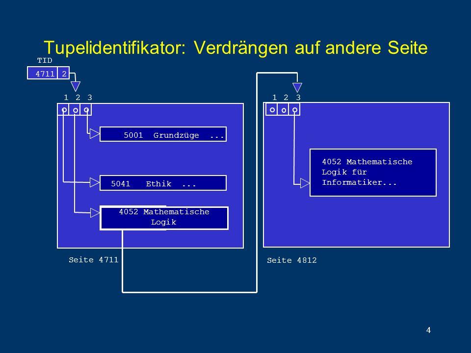 Tupelidentifikator: Verdrängen auf andere Seite