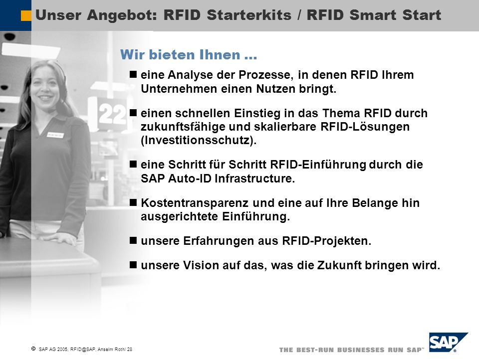 Unser Angebot: RFID Starterkits / RFID Smart Start