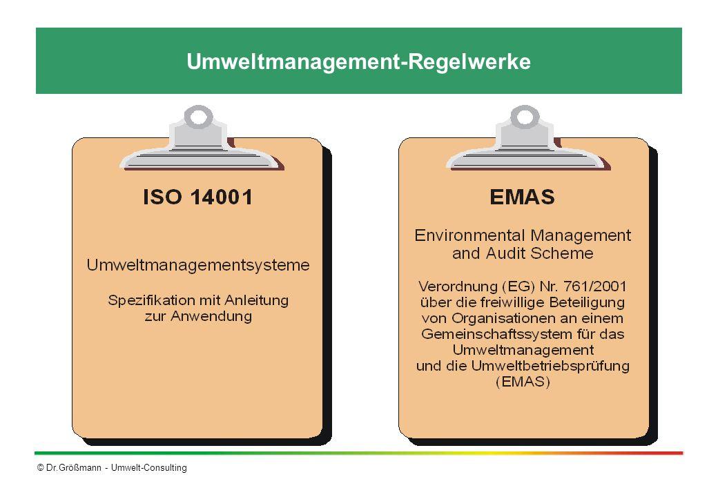 Umweltmanagement-Regelwerke
