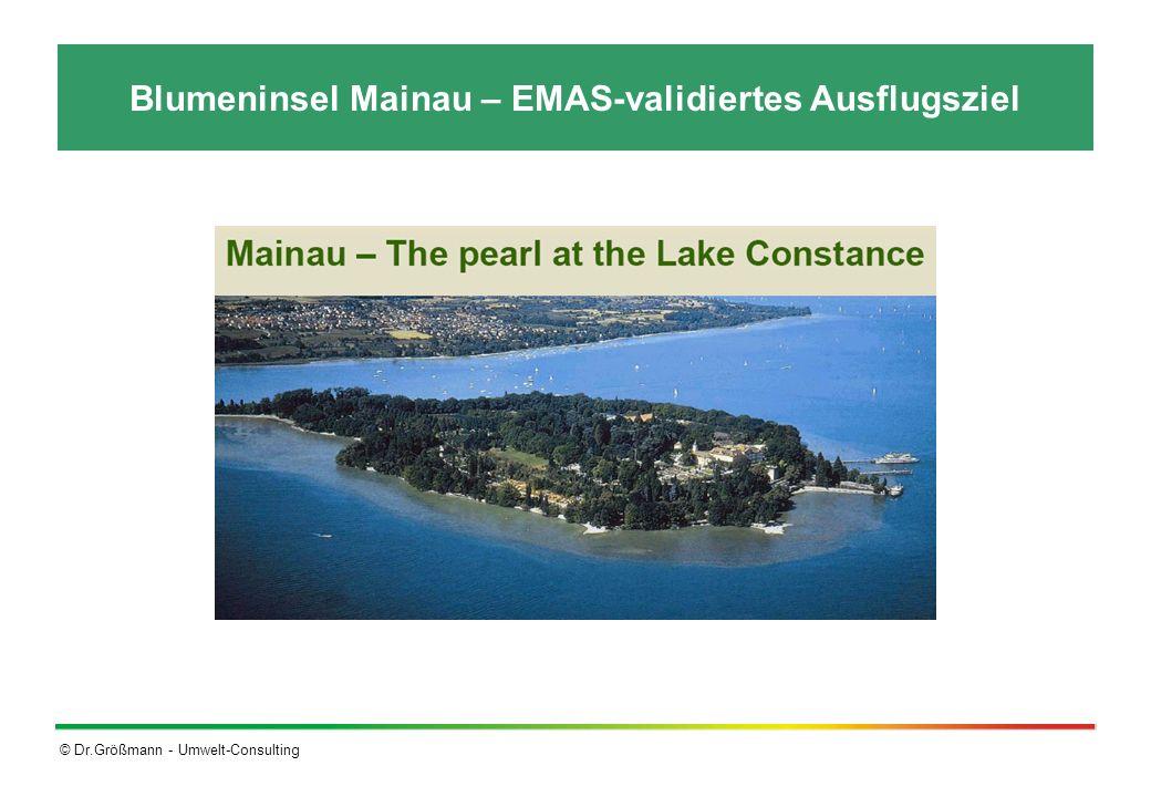 Blumeninsel Mainau – EMAS-validiertes Ausflugsziel
