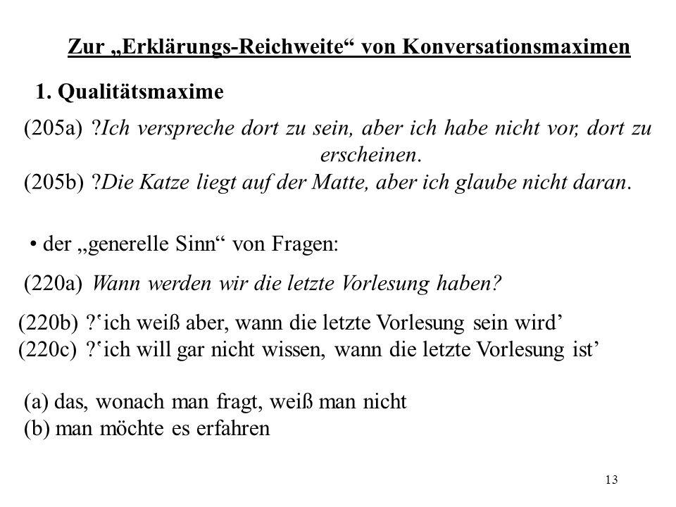 """Zur """"Erklärungs-Reichweite von Konversationsmaximen"""