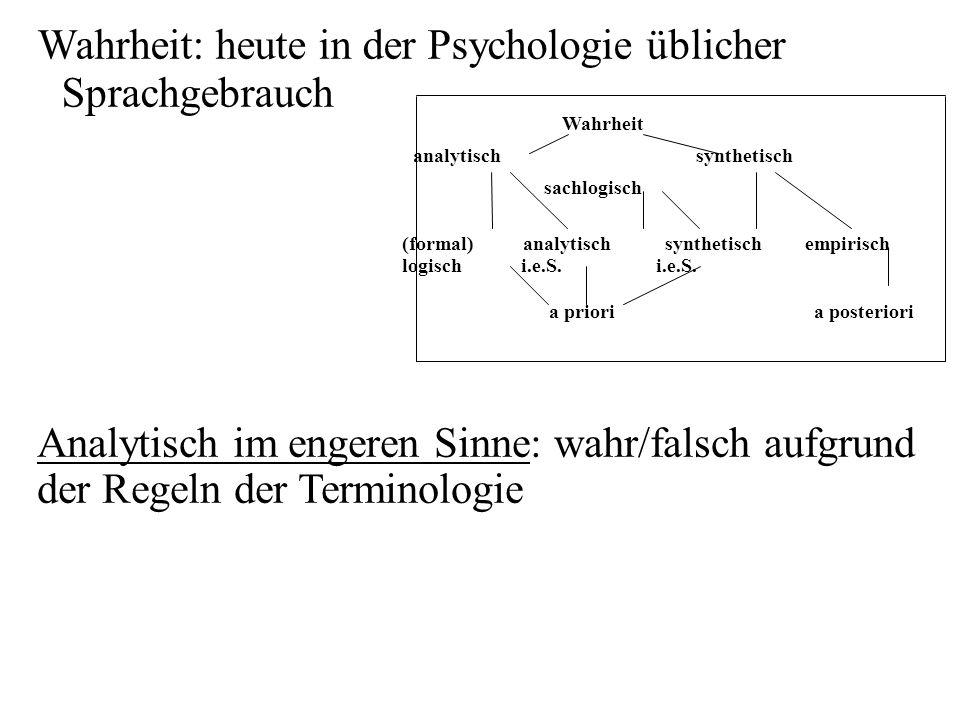 analytisch synthetisch