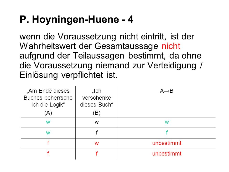 P. Hoyningen-Huene - 4