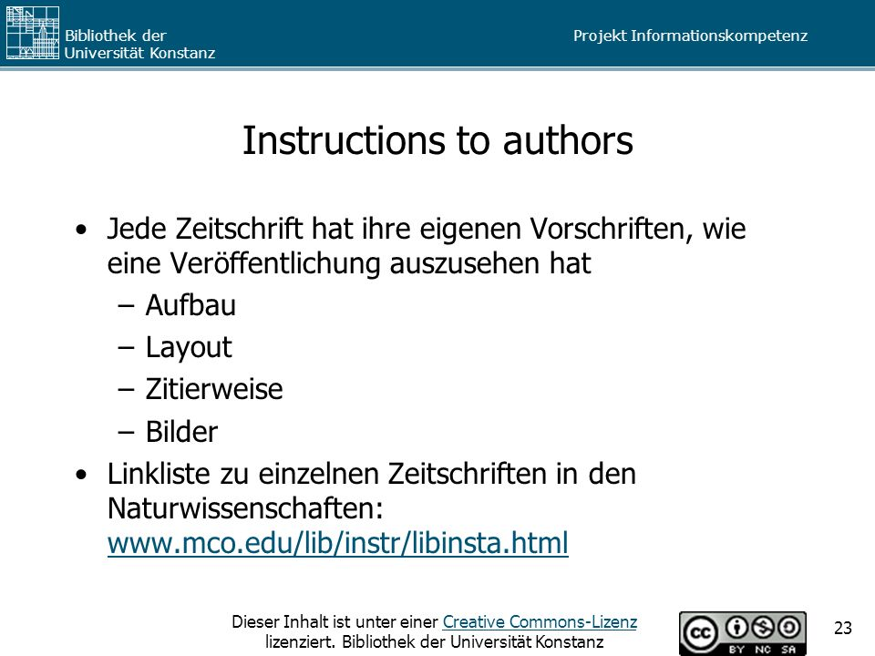 Instructions to authors