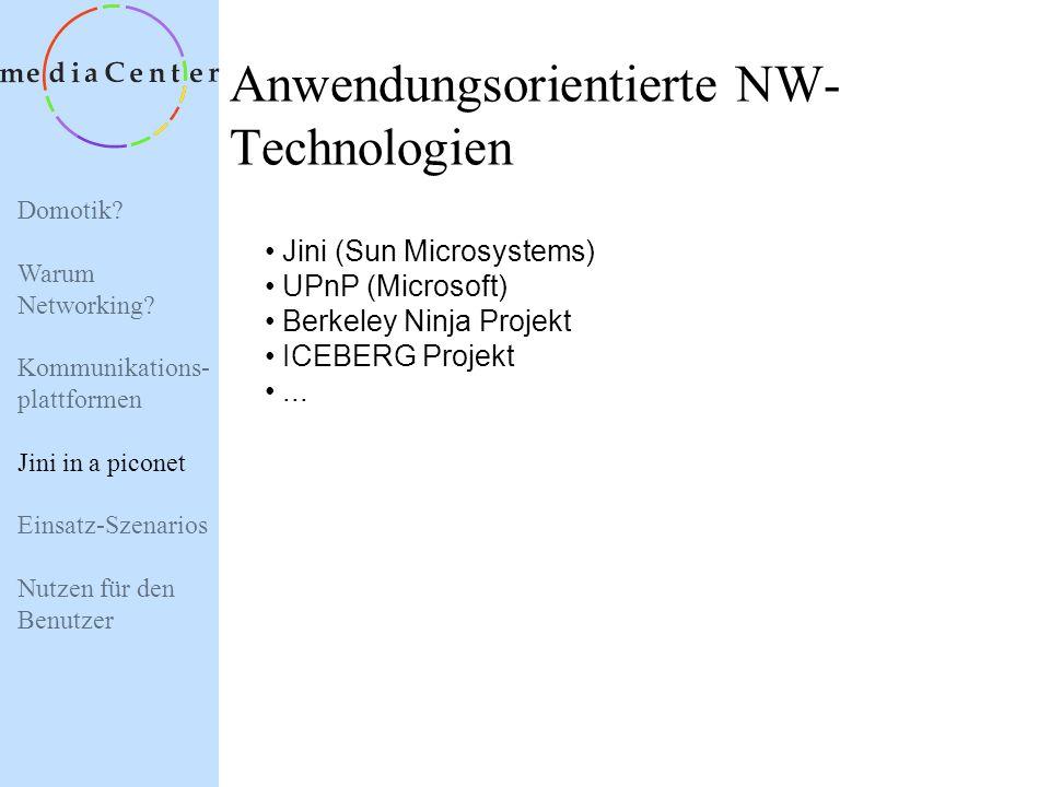 Anwendungsorientierte NW-Technologien