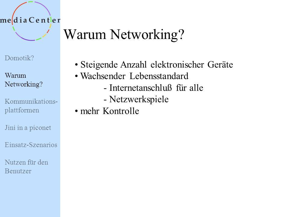 Warum Networking Steigende Anzahl elektronischer Geräte