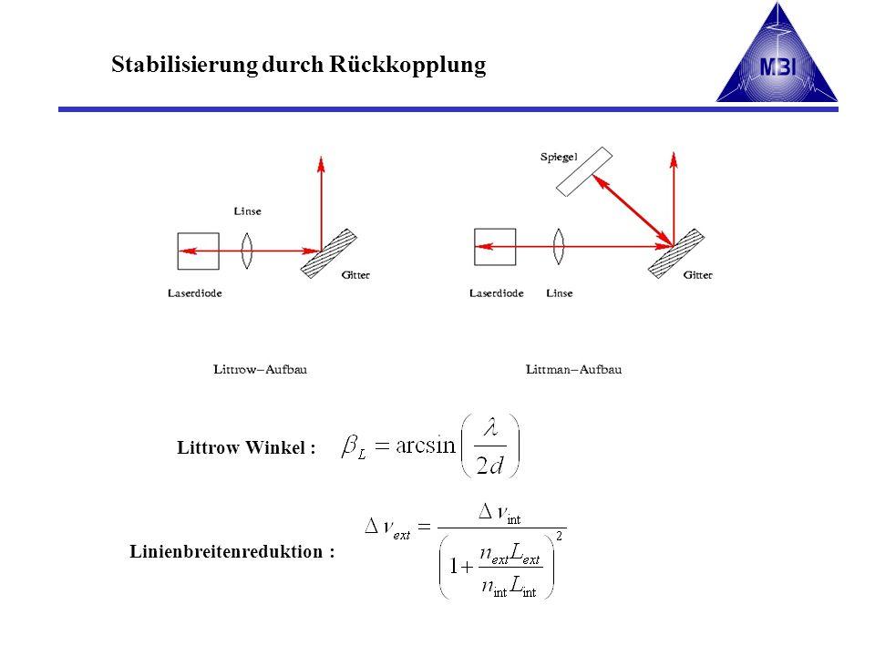 Stabilisierung durch Rückkopplung