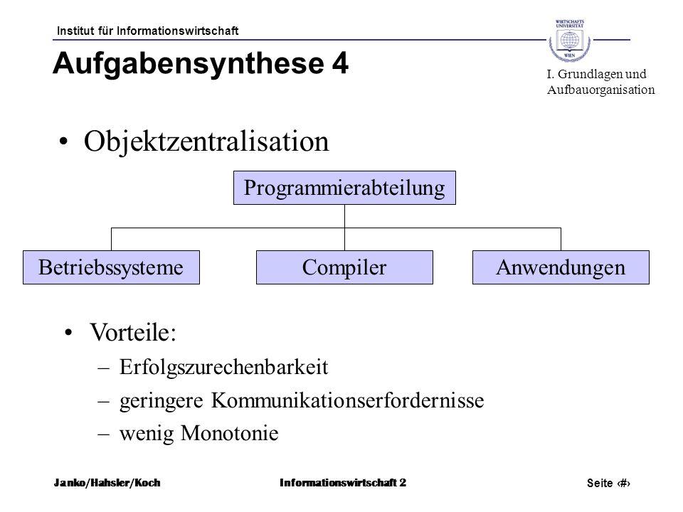 Programmierabteilung