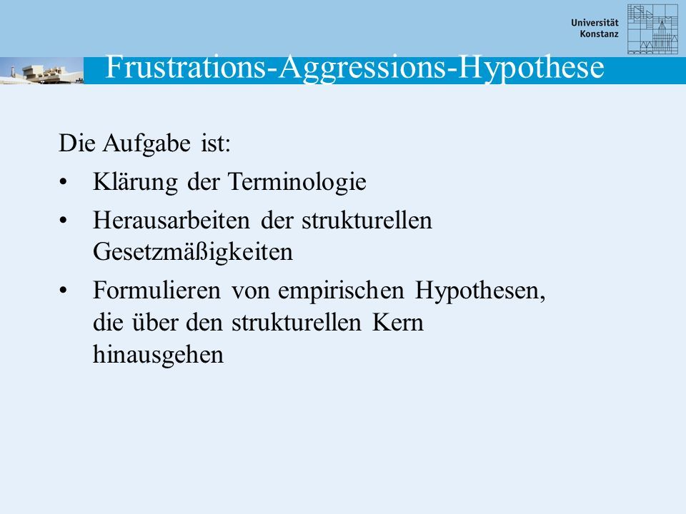 Frustrations-Aggressions-Hypothese